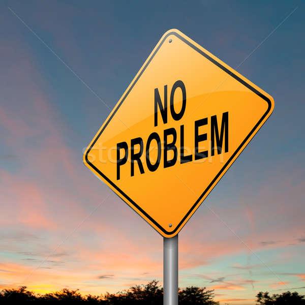 No problem. Stock photo © 72soul