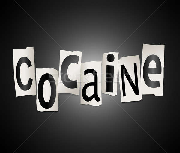 Cocaine concept. Stock photo © 72soul