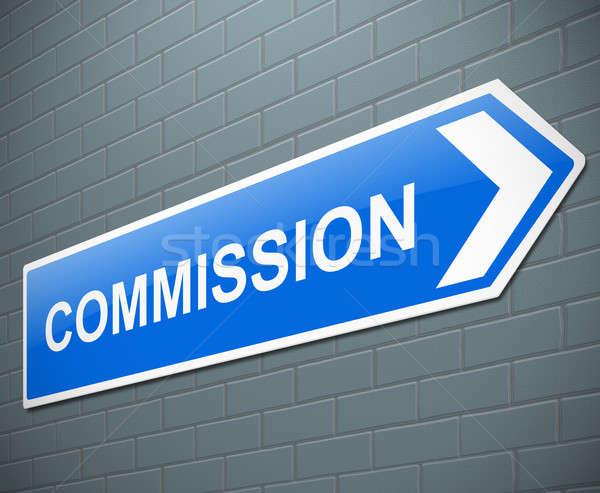 Commission concept. Stock photo © 72soul