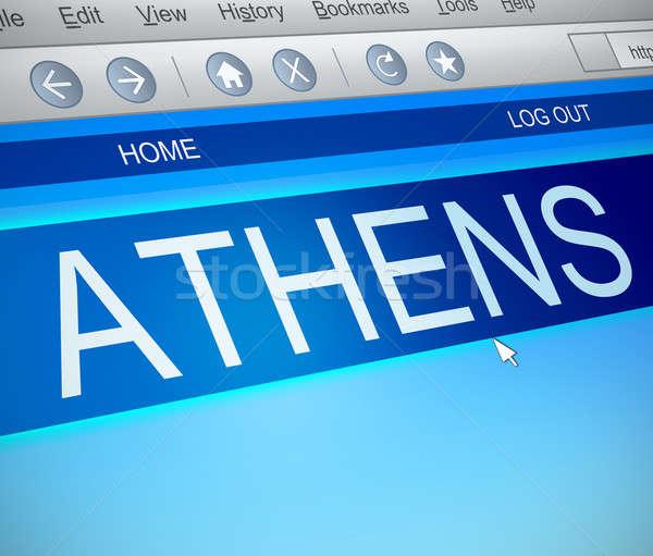 Athens concept. Stock photo © 72soul
