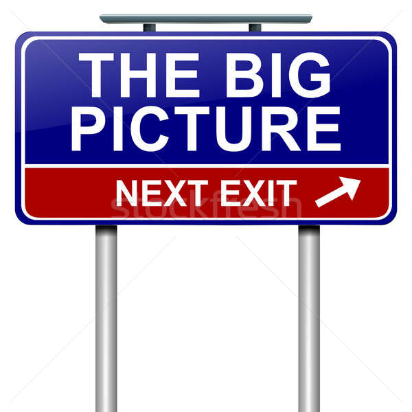 The big picture concept. Stock photo © 72soul