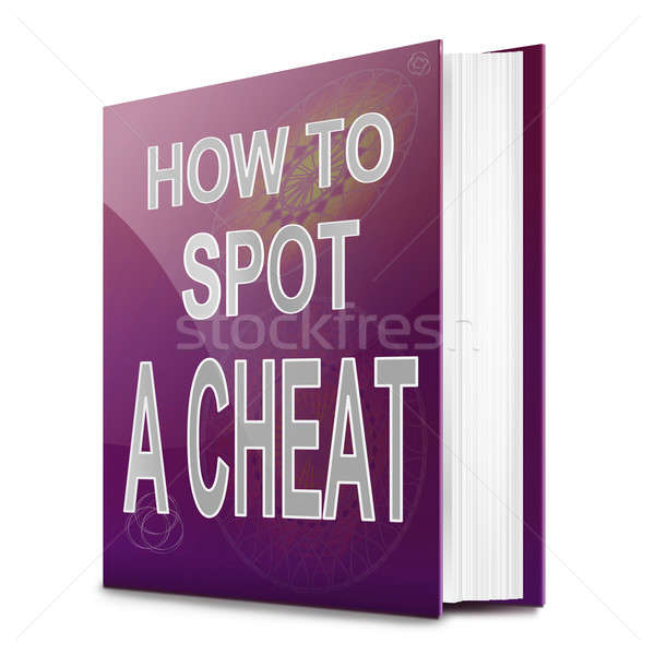 Spotting a cheat. Stock photo © 72soul