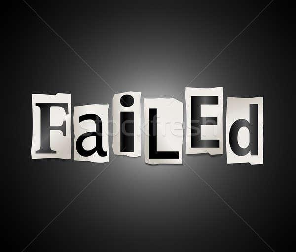 Failure concept. Stock photo © 72soul