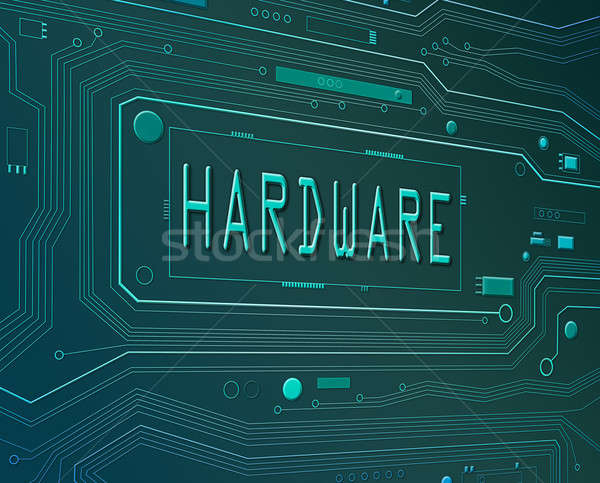Hardware concept. Stock photo © 72soul