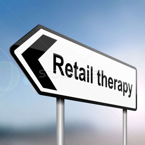 Retail therapy concept. Stock photo © 72soul