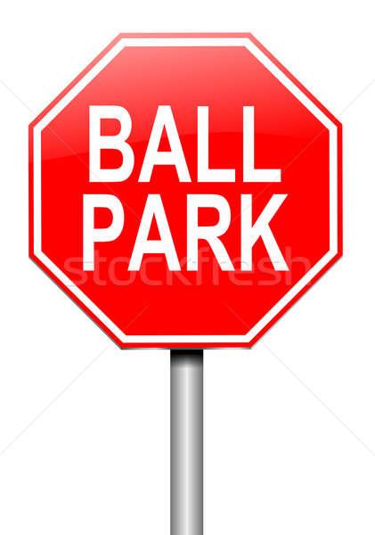 Ball park concept. Stock photo © 72soul