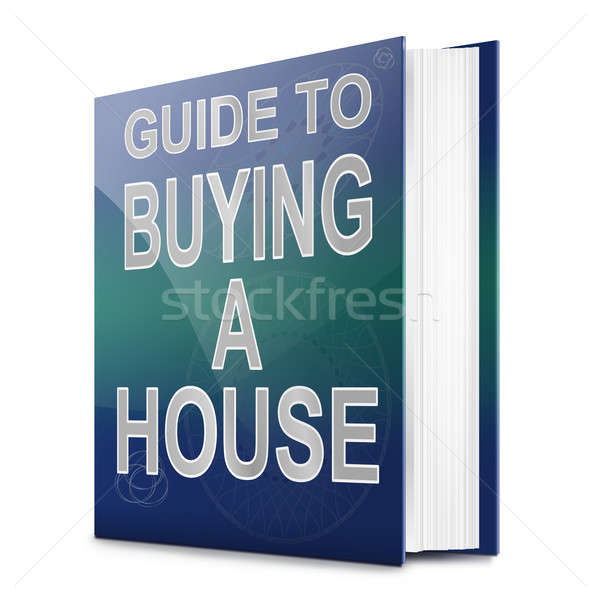 Stock photo: House buying concept.