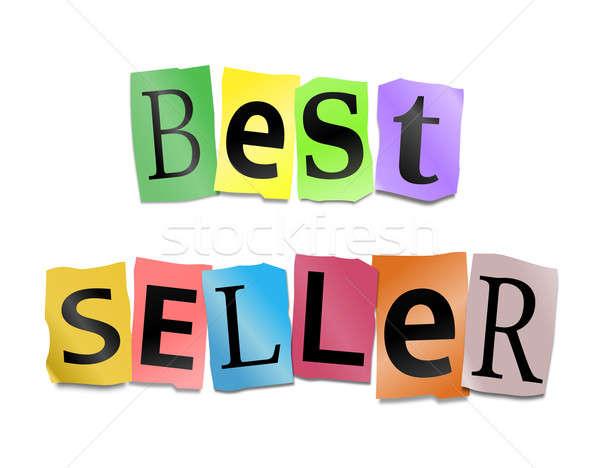 Best seller concept. Stock photo © 72soul