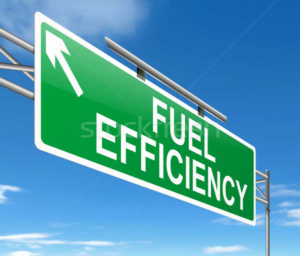 Fuel efficiency concept. Stock photo © 72soul