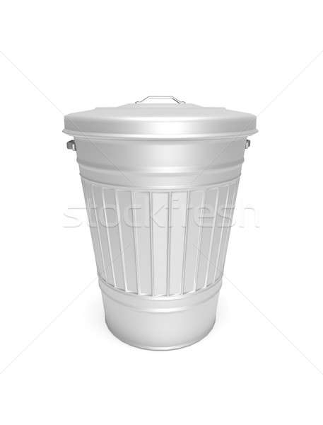 Aluminium bin. Stock photo © 72soul
