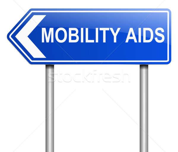 Mobility aids concept. Stock photo © 72soul