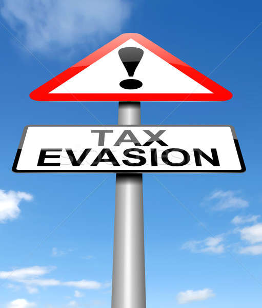 Tax evasion sign. Stock photo © 72soul