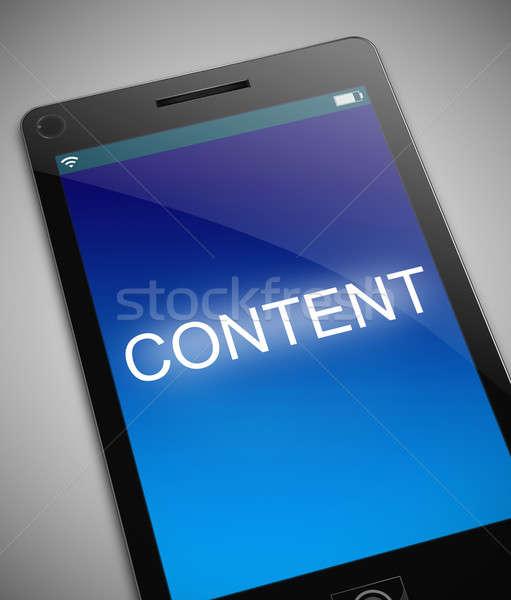 Content technology concept. Stock photo © 72soul