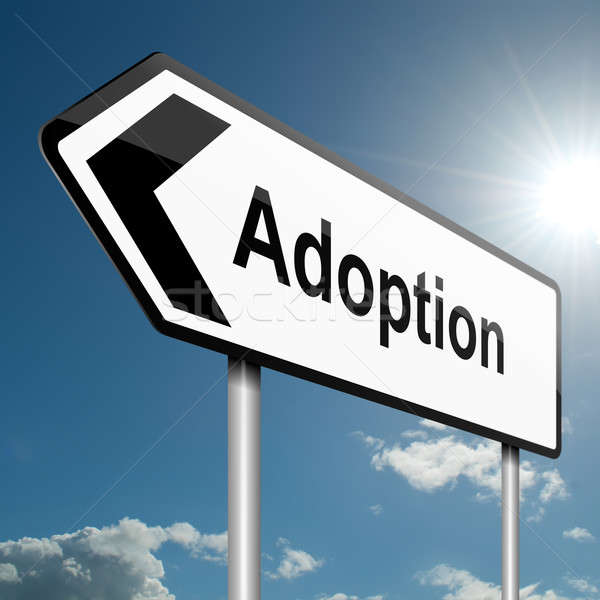 Adoption concept. Stock photo © 72soul