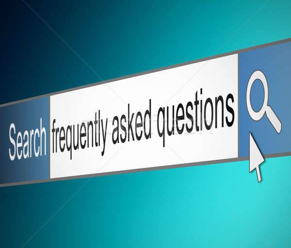 Frequently asked questions. Stock photo © 72soul