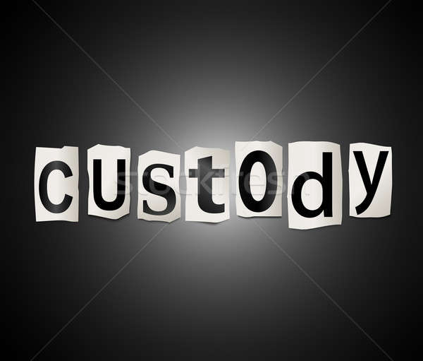 Custody concept. Stock photo © 72soul
