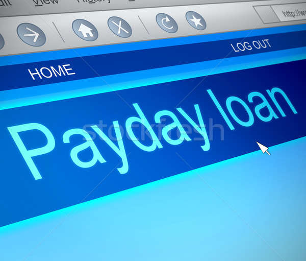 Payday loans. Stock photo © 72soul