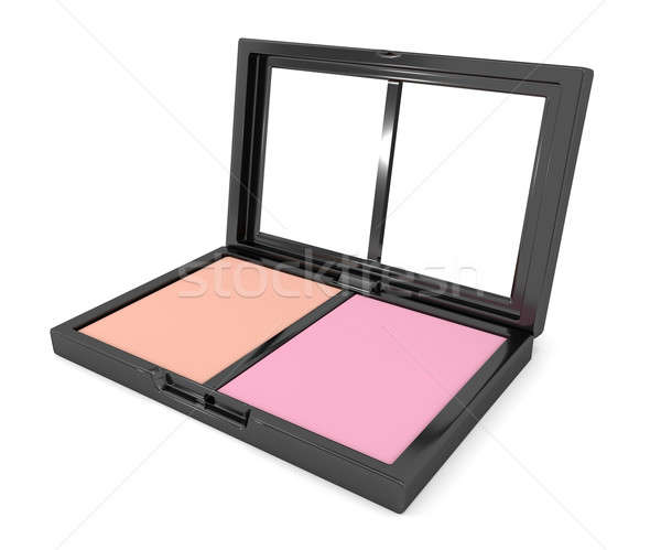 Blusher compact. Stock photo © 72soul