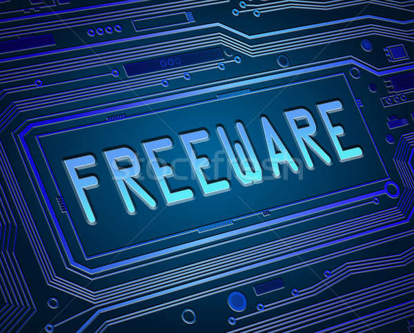 Freeware concept. Stock photo © 72soul