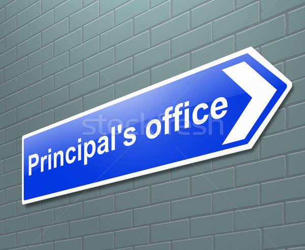 Principal's office concept. Stock photo © 72soul
