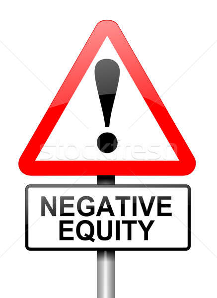 Negative equity concept. Stock photo © 72soul