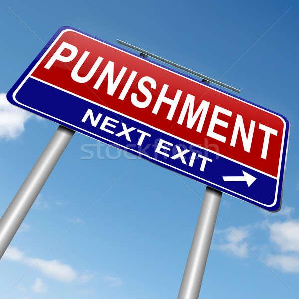 Punishment concept. Stock photo © 72soul