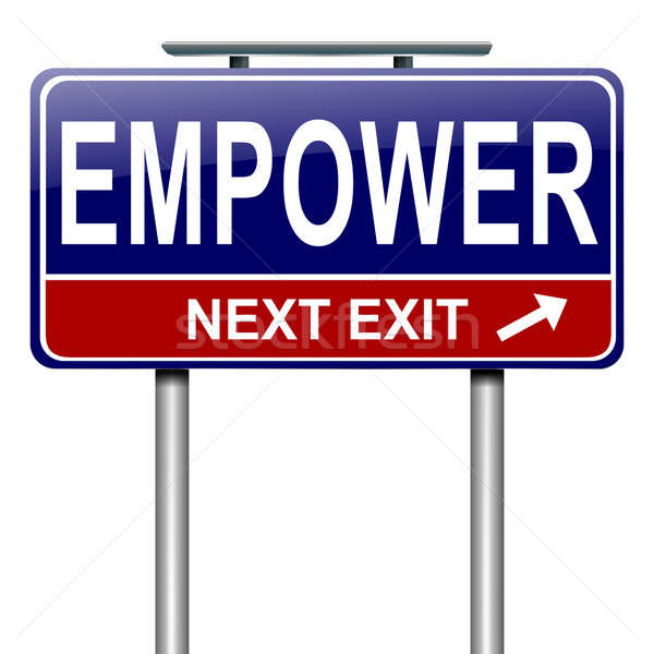 Empower concept. Stock photo © 72soul