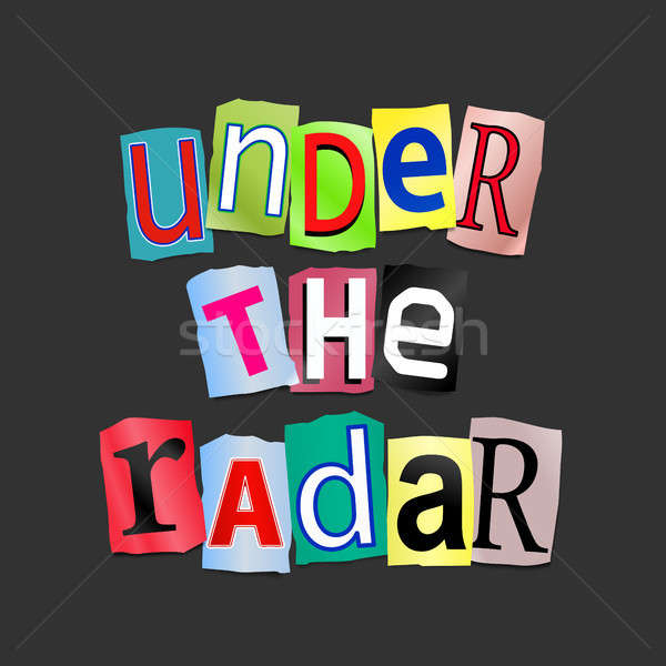 Under the radar. Stock photo © 72soul