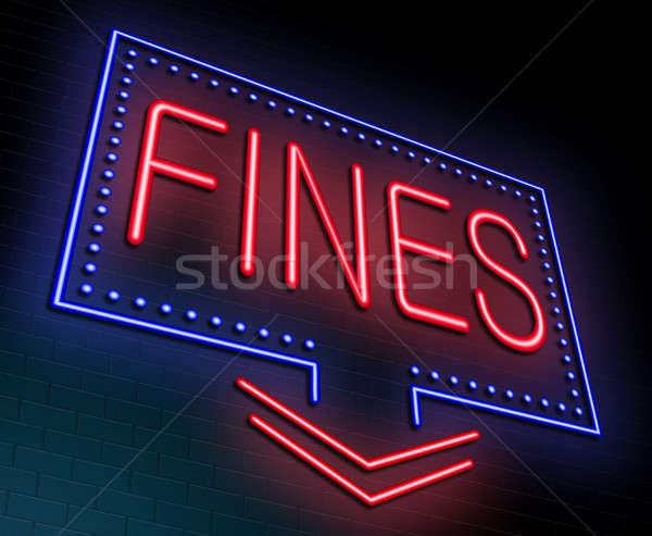 Fines concept. Stock photo © 72soul