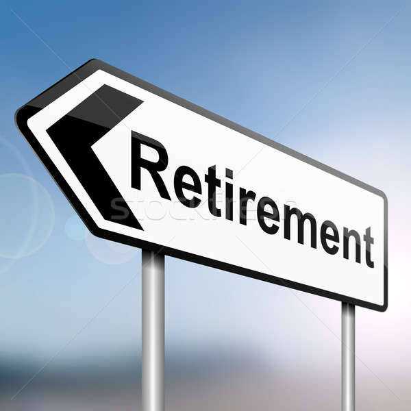 Time for retirement. Stock photo © 72soul