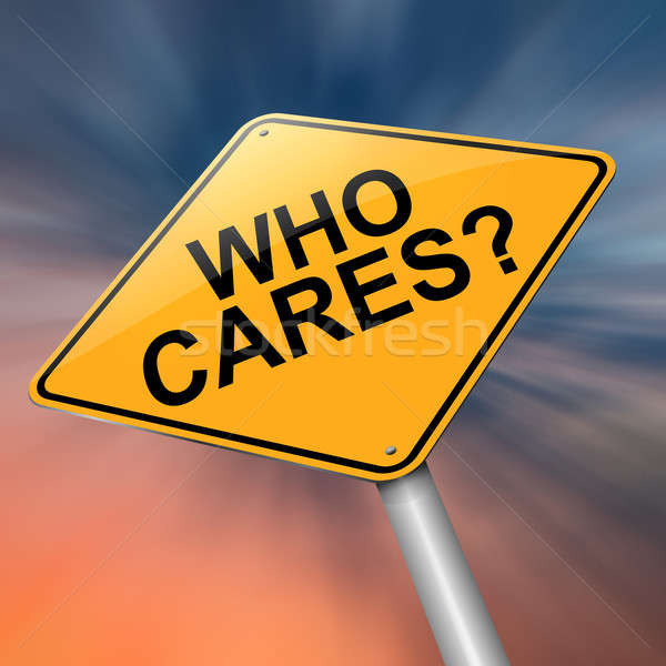 Who cares. Stock photo © 72soul