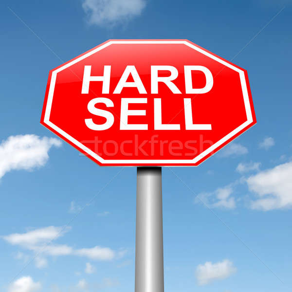 Hard sell concept. Stock photo © 72soul