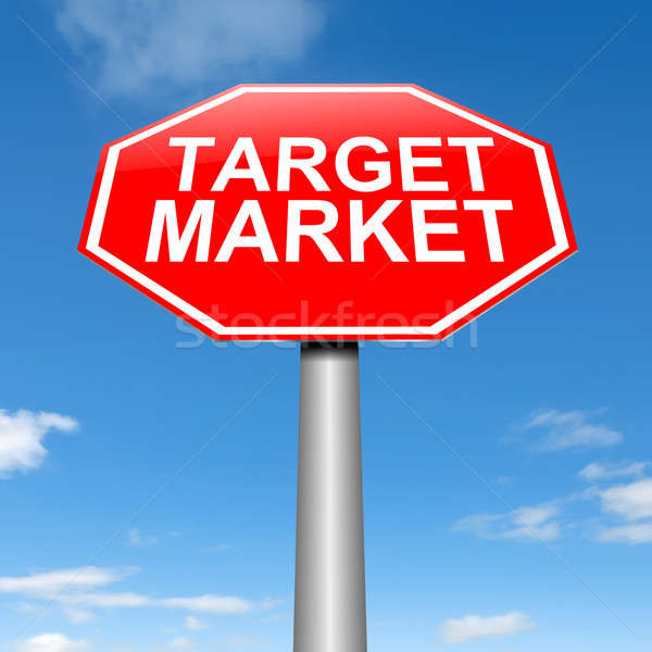 Target market. Stock photo © 72soul