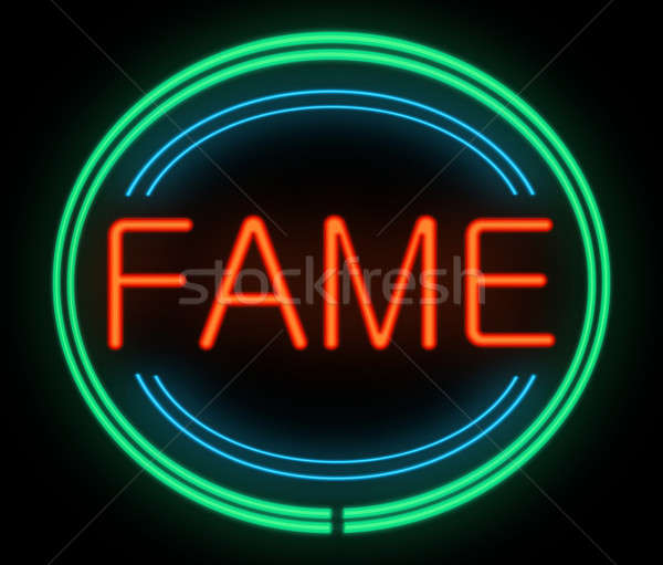 Fame concept. Stock photo © 72soul