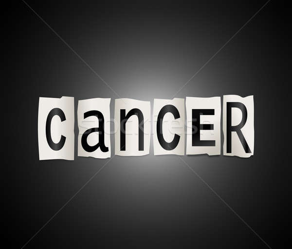 Cancer concept. Stock photo © 72soul