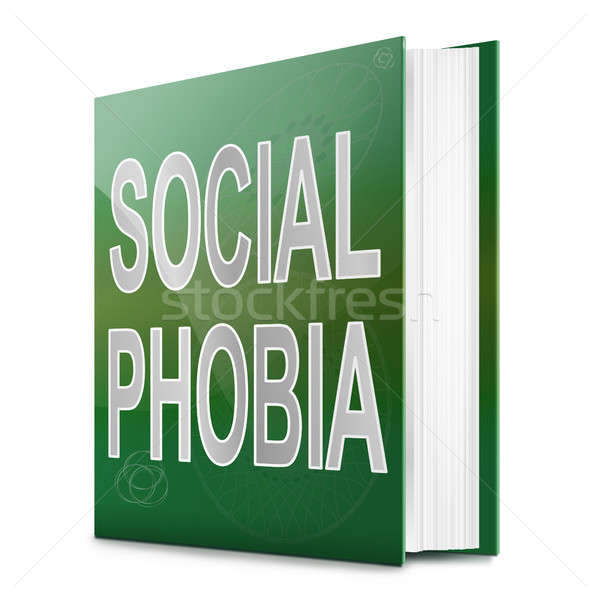 Social Phobia concept. Stock photo © 72soul