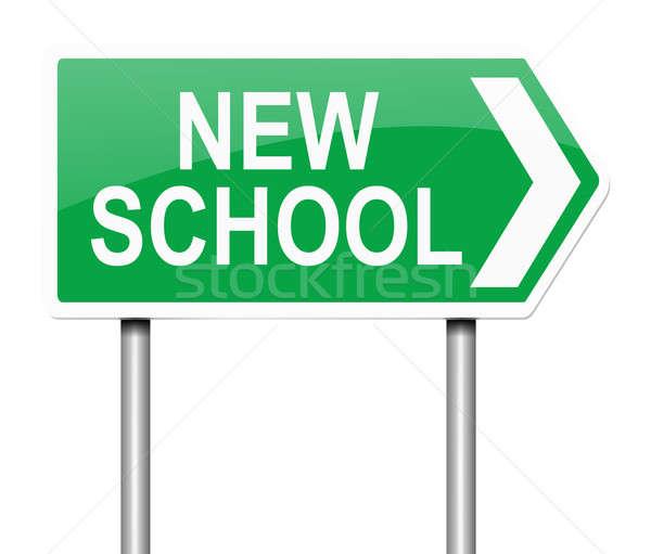 New school concept. Stock photo © 72soul