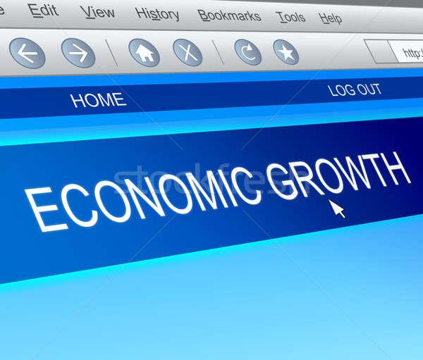 Economic growth concept. Stock photo © 72soul