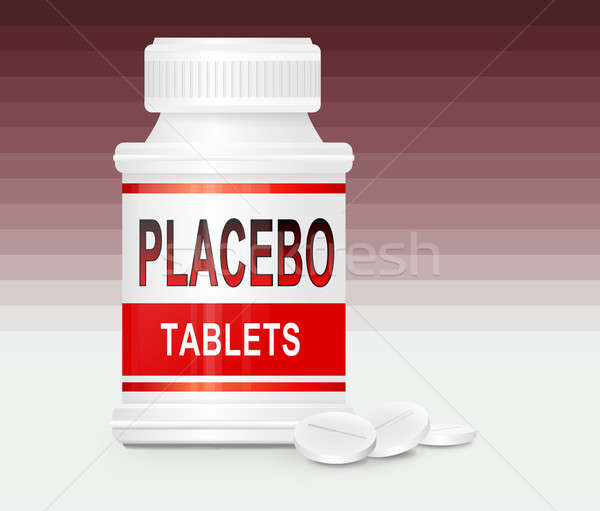 Placebo concept. Stock photo © 72soul