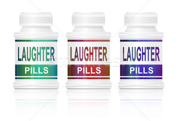 Laughter pills. Stock photo © 72soul