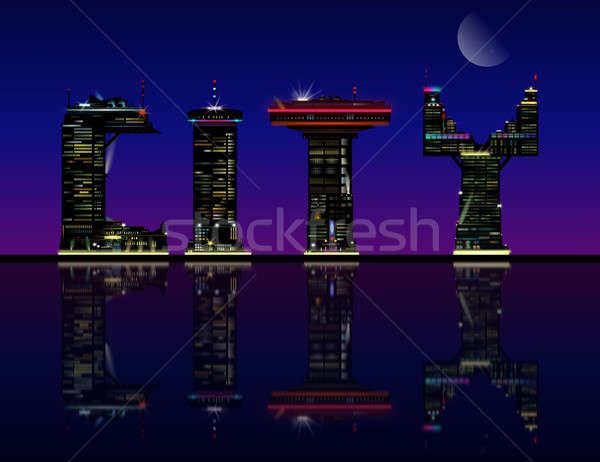 City concept. Stock photo © 72soul