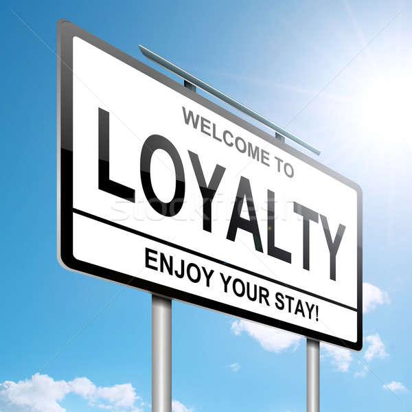 Loyalty concept. Stock photo © 72soul