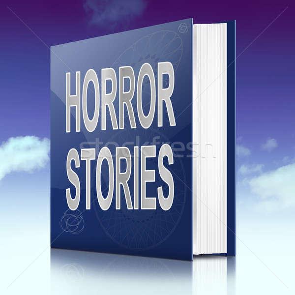 Horror stories. Stock photo © 72soul