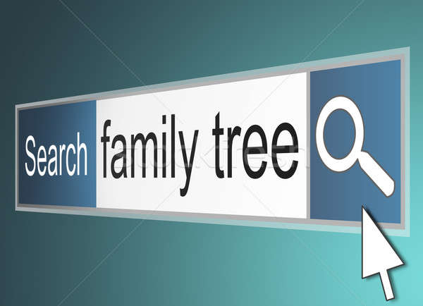 Stock photo:  Family tree concept.