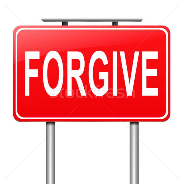 Forgive concept. Stock photo © 72soul