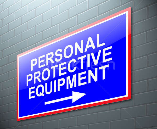 Personal protective equipment concept. Stock photo © 72soul