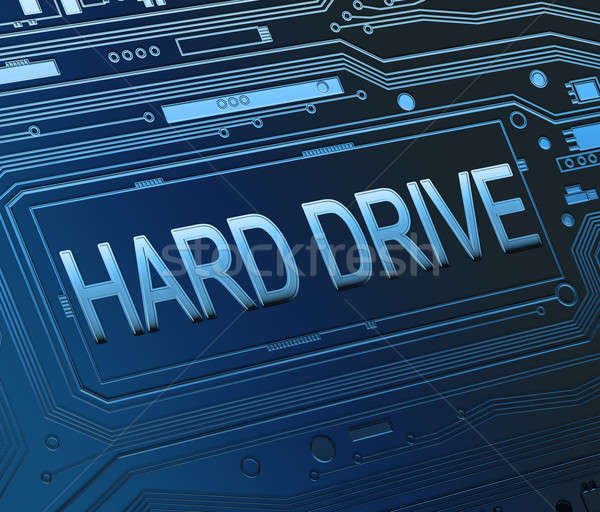 Hard drive concept. Stock photo © 72soul