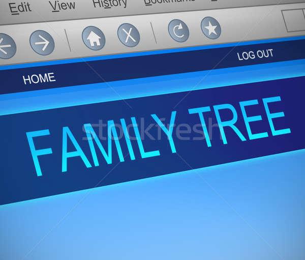 Family tree concept. Stock photo © 72soul