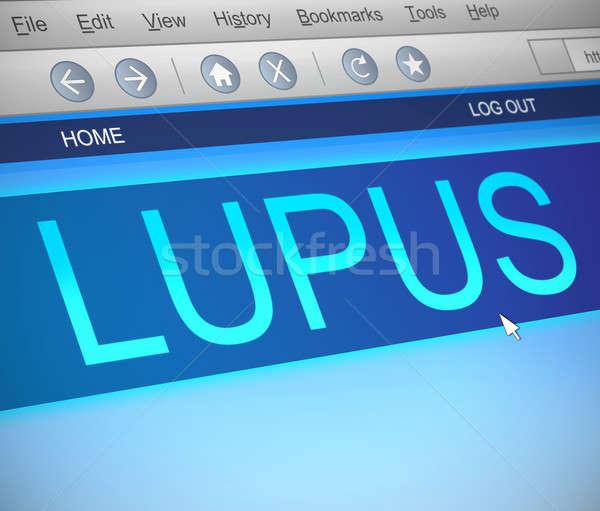 Ilustración pantalla del ordenador capturar ordenador tecnología salud Foto stock © 72soul