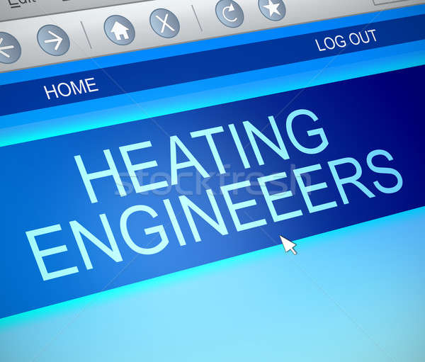 Heating engineer concept. Stock photo © 72soul